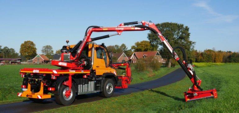 Neuer Heckanbau- sowie Heckaufbaumäher von Dücker wird in Hannover vorgestellt
